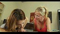 mother teaching daughter 300