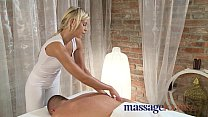 Massage Rooms Stunning teen oils large cock before orgasm preview image