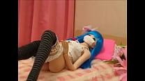ตุ๊กตายางทำเส่ียวเหมือนคนทุกอย่างหีอย่างฟิตเล่นเซ็กใส่กันรัวๆหุ่นน่าเด้ามาก