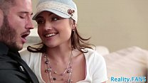 Petite stepdaughter creampied by stepdad