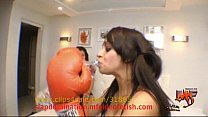 8232 Belly Punch Domination Girl vs Girl Real preview