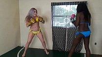 Whitney Morgan Vs Paris Love (foxy Boxing)