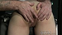 16750 BDSM XXX Young big breasted sub gets hard anal from her Master preview