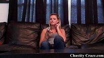 Dacy Lynn locking your cock in chastity pornhub video