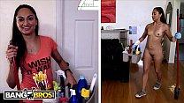 BANGBROS - Slender Latina Maid Valentina Vixen Fucks Her Client video