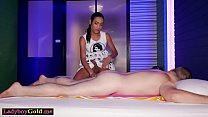 Big cocked ladyboy and her client fucked each other