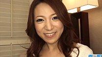 fell onproductions com - Amateur Kanako Tsuchiyo kneels to suck a big dong thumbnail