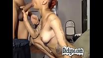 School Girl Turned Ebony Dick Sucking Stripper