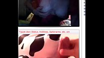 Omegle Girl - Moo - Me and Cum thumbnail