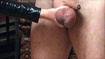Ballbusting: Mistress Natasha Poole destroys th... thumb