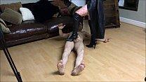 11015 Ballbusting: Mistress Natasha Poole destroys the testicles of Andrea Diprè preview