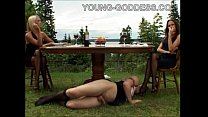 Mistress Lera And Mistress Julia Picnic