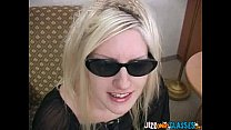 Screenshot Cute Blonde Gets Jizz On Glasses