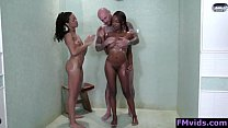 Ebony babes sucking white cock Thumbnail