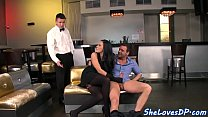Classy euro milf spitroasted and jizzed in mouth's Thumb