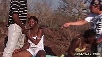 extreme african outdoor fuck orgy thumbnail