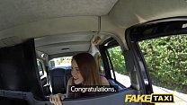 Fake Taxi Redhead gets dirty with future sugar daddy