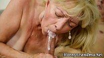 Geriatric whore gets fuck porn thumbnail
