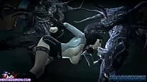 Screenshot Squid Monster Gangbang