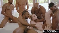 19255 BLACKED Kendra Sunderland BBC interracial GANGBANG!! preview