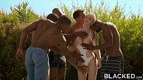 BLACKED Kendra Sunderland BBC interracial GANGBANG!! - 9Club.Top