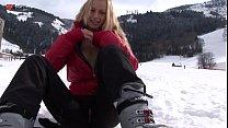Eroberlin Anna Safina russian blond girl ski austria open public Vorschaubild