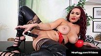 Plump Rump Hottie Nina Kayy Abuses All Her Smal...