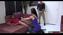 Sexy HotWife Jasmine Jae Gets Fucked By BBC While Cuckold WatchingWatching thumbnail