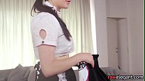 European maid interracially doggystyled