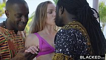 BLACKED Petite Blonde Gets Dominated By Two Monster BBCs preview image