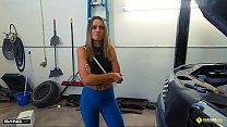 Roadside - Hot Mom Fucks Mechanic To Get Her Car Back video