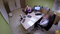 Loan4K. Naive Nata Comes To Loan Agency And Gets Owned Like A Slut