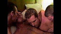 Hunks cock sucking bareback fucking orgy