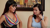 Keisha Grey, Mercedes Carrera Cock Sharing's Thumb