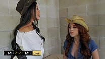 Hot And Mean - (Lela Star, Molly Stewart) - Wanted Fucked Or Alive  Part 1 - Brazzers