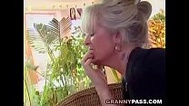 Busty Granny Takes Young Dick pornhub video