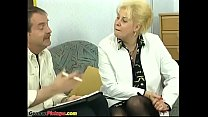 german bbw mom picked up for first anal Image