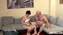 German milf 69ing on the couch