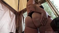 MILF Fucked in the Backyard image