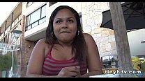 Petite Latina teen pussy Lorena Lobos 51 preview image