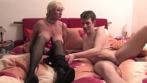 7694 Free Version - Mom lets her mature son enjoy fucking him with his hand preview