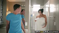 Brazzers - Mommy Got Boobs - Save The Tits scene starring Reagan Foxx and Jessy Jones video