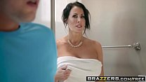 Brazzers - Mommy Got Boobs - Save The Tits scene starring Reagan Foxx and Jessy Jones Image