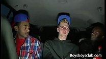Blacks On Boys - White Skinny Gay Boy Enjoy Big Black Cock 19