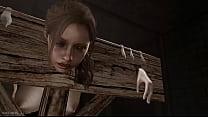 Screenshot Resident Evil 2  Remake Clare Bdsm dsm