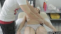 13807 She can't resists to his cock while her massage preview