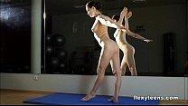 Masha shows flexible body thumbnail