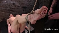 13166 Two slaves suffers in rope bondage preview
