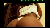 black anal creampie