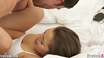 EroticaX Sweet Pregnant teen gets a romantic fuck thumbnail
